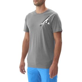 Millet M's Cloud Peak Wool T-Shirt Smoked Pearl